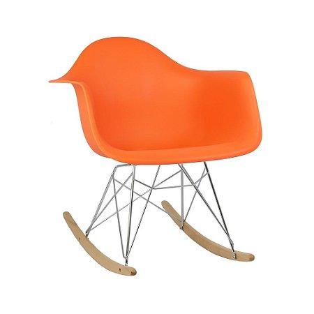 Cadeira Laranja Charles Eames Balanço DAR em PP