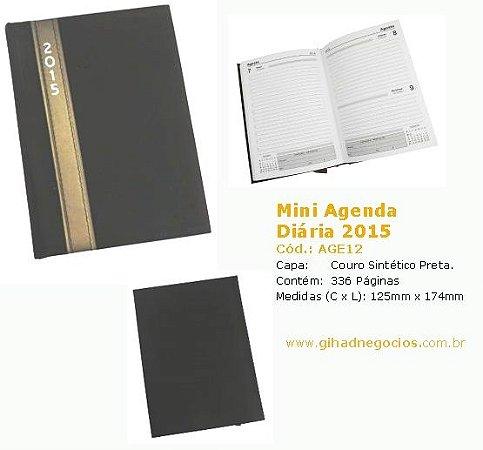 Mini Agenda / Agenda Plástica - Mais Modelos
