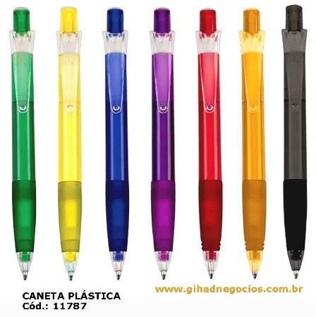 Caneta PLASTICA TOTAL 11787 - OUTROS MODELOS
