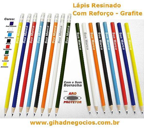 Lapis Carpinteiro Marceneiro Pedreiro comum - Madeira Resinado Reflorestado