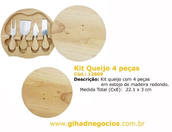Kit Tabua Queijo 8542 - MAIS MODELOS
