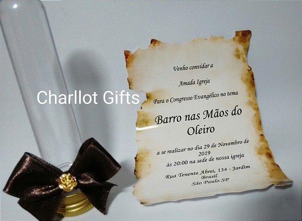 Convite Pergaminho II
