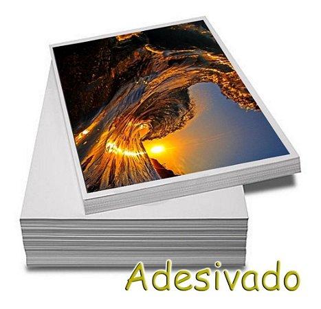 PAPEL FOTOGRÁFICO A4 ADESIVO 80gr- 10 folhas