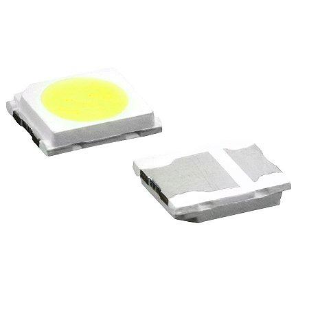 LED SMD 2835 - BRANCO FRIO  P/ BARRAMENTO LED - 6V - 1W