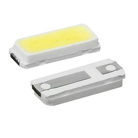 LED SMD 4014 - BRANCO FRIO  P/ BARRAMENTO LED - 3V - 0,2W