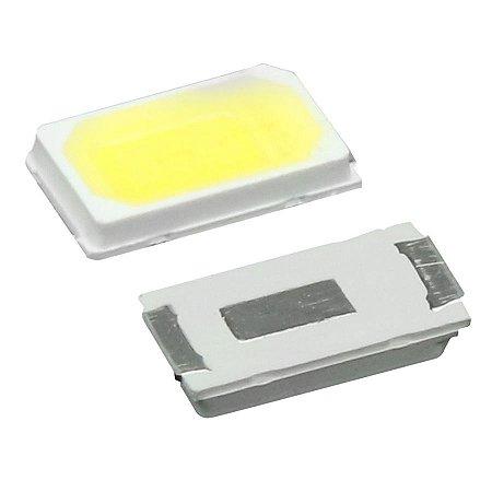 LED SMD 5730 - BRANCO FRIO  P/ BARRAMENTO LED - 3V - 0.5W