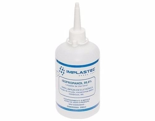 Alcool Isopropilico 250ml Implastec