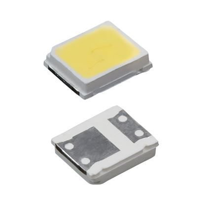 LED SMD 2835 - BRANCO FRIO - 17-19V - 0,5W 30MAH 65/70LM 6500K