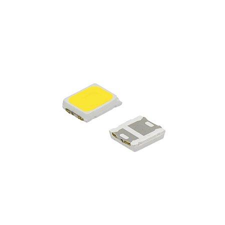 LED SMD 2835 - BRANCO FRIO - 3.0-3.4V - 0,2W 60MAH 25/27LM 6500K