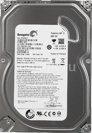 HD Seagate Pipeline SATA 3.5 500GB 8MB Cache ST3500312CS