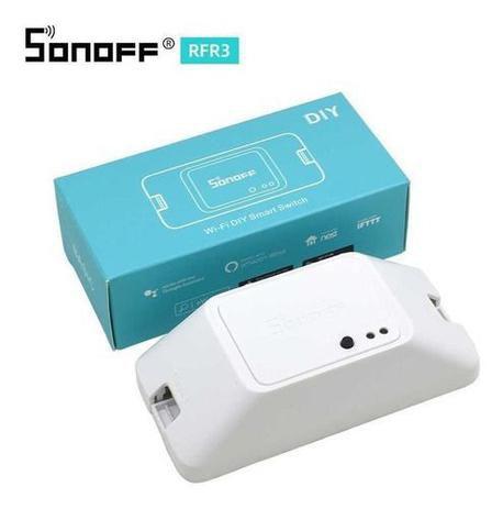 Interruptor Wi-fi Sonoff Basic R3 RF 433mhz - Automação Residencial