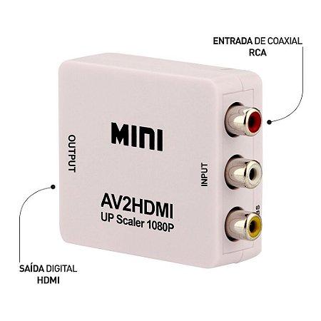 CONVERSOR RCA PARA HDMI