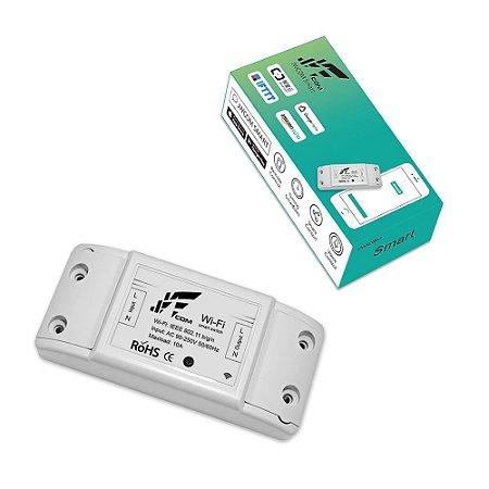 Interruptor Wi-Fi 1 Canal 10a App Tuya - Jwcom SA-01