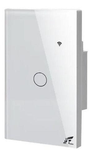 Interruptor Smart Wi-fi 1 Sessão Touch, App Tuya - Jwcom SA268A