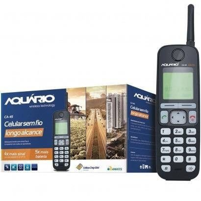 Celular Rural Longo Alcance Quadriband Aquario Ca-45
