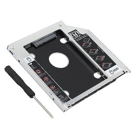 Adaptador Dvd Para Hd Ssd Macbook Mac Pro Air Drive Caddy 9.5mm