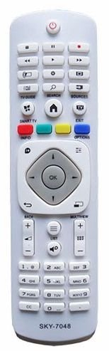 Controle Remoto Smart Tv Philips Branco - 195