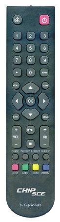 Controle Remoto Philco Ph24m3 Ph24mr3 Lcd - 2433