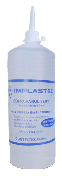 Alcool Isopropilico 1L - Implastec