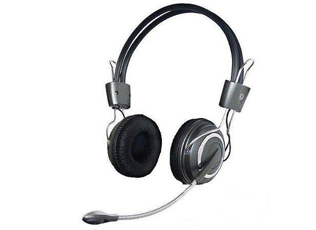 Headfone Hipermusic com microfone e volume HM-650MV