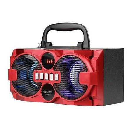 Caixa Som Bluetooth Portatil Mp3 Super Bass 5W CS-m225BT