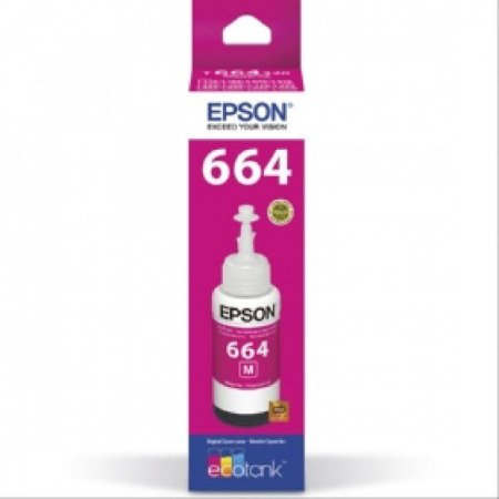 Refil de Tinta Epson 664 Original 70ML Magenta (M) - L355 L365