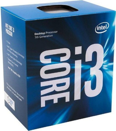 Processador Intel Core i3-7100 Kaby Lake 7a Geração, Cache 3MB 3,9GHz LGA 1151 - BX80677I37100