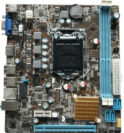 Placa Mãe Para Intel Lga 1155 Micro Atx H61CV1.2 DDR3