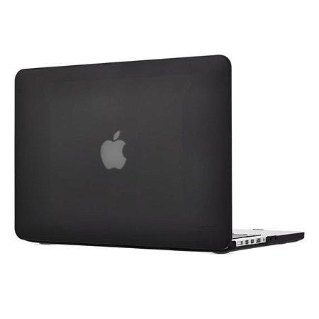 Capa Case Para Macbook Pro Retina 15 Polegadas Preta - 1214 CP-R15