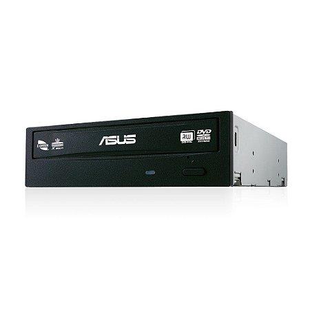 GRAVADOR DVD INTERNO 24X ASUS BLACK DRW-24F1MT/BLK/AS - 208000013