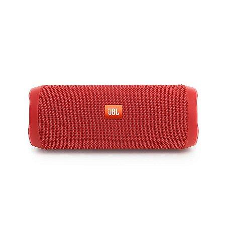 Caixa de som Portátil Bluetooth JBL Flip 4, Aprova d´água - Vermelha