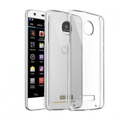 Capa Case Transparente Flexível - Moto Z Play