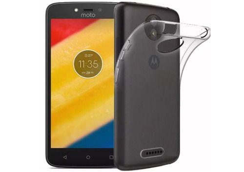 Capa Case Transparente Flexível - Moto C Plus