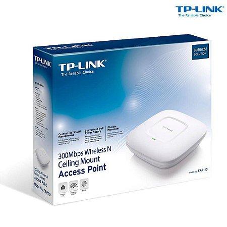 Acess Point De teto, Corporativo TP-Link Eap110 Wireless N300