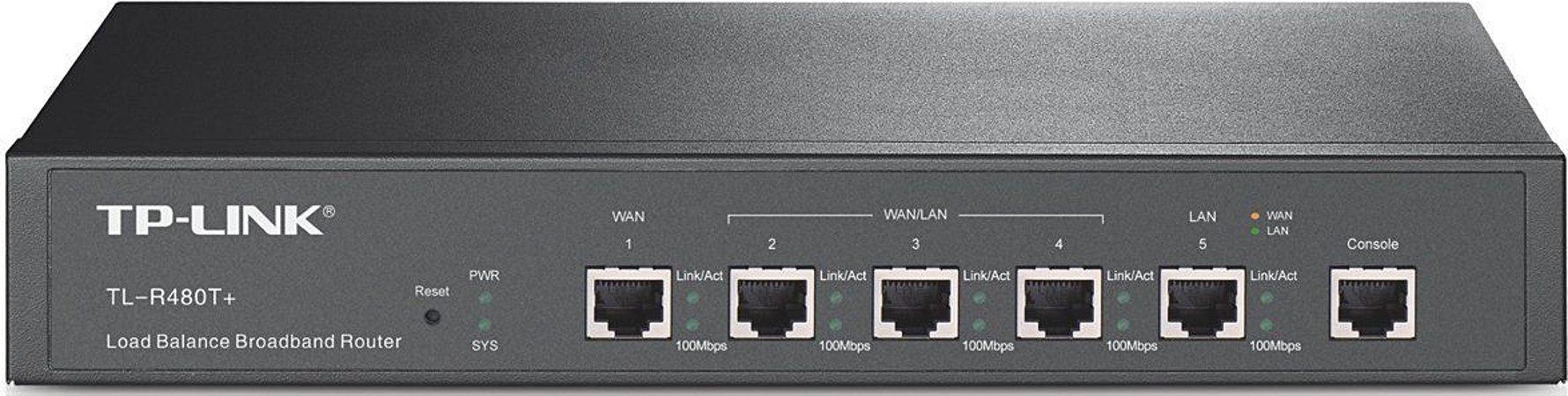 Roteador Load Balance Tp-link TL-R480T+ (Rack)