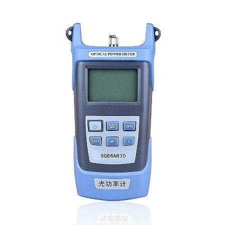Powermeter Medidor Potência Fibra Óptica 10Km