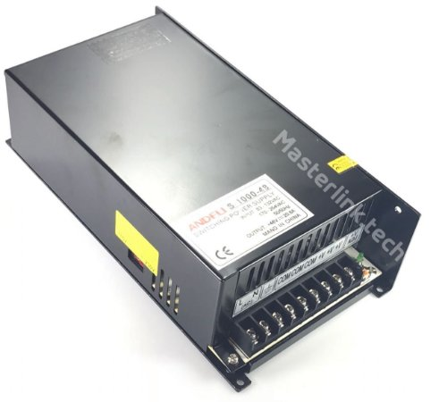 Fonte Chaveada 48V 20A 1000w Bi-volt Andeli MS-1000w-48