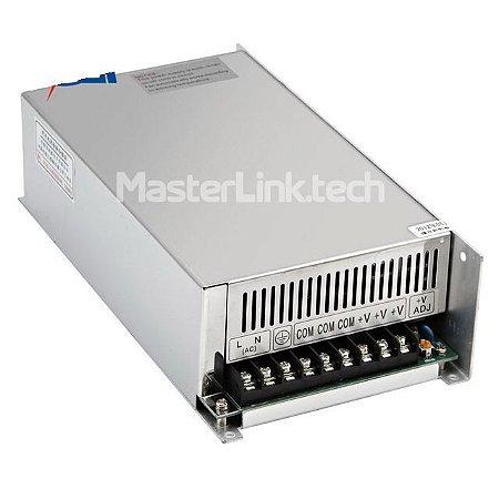Fonte Chaveada 48V 10A 500w Bi-volt S-500-48 Andeli