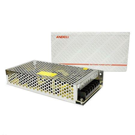 Fonte Chaveada 12V 21A 250w Bi-volt MS-250-12 Andeli