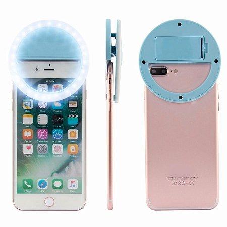 Clipe Anel Flash Led Luz De Selfie, 3 Níveis Luz - Ring Light