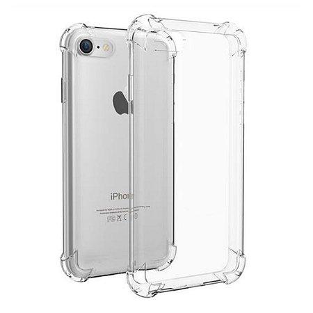 Capa Case Flexível Iphone 7 Transparente Anti Queda - 4.7 Polegadas
