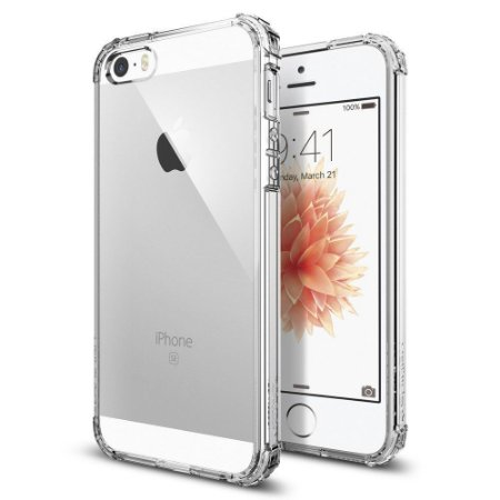Capa Case Flexível Iphone 5 Transparente Anti Queda
