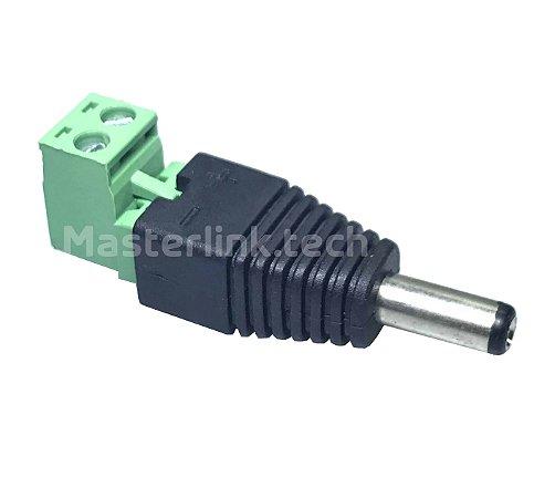 Conector Adaptador p4 Borne Macho - Removível