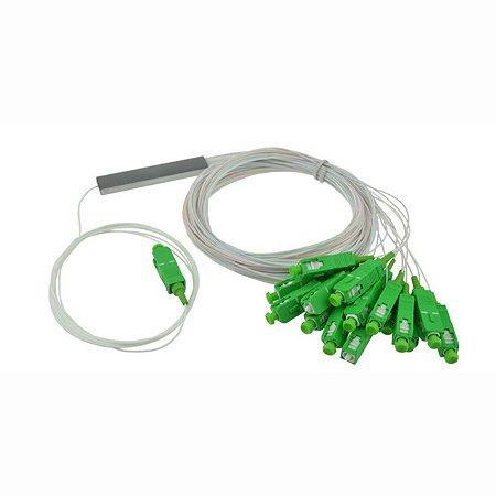 Splitter Óptico 1 x 16 Sc/Apc Balanceado