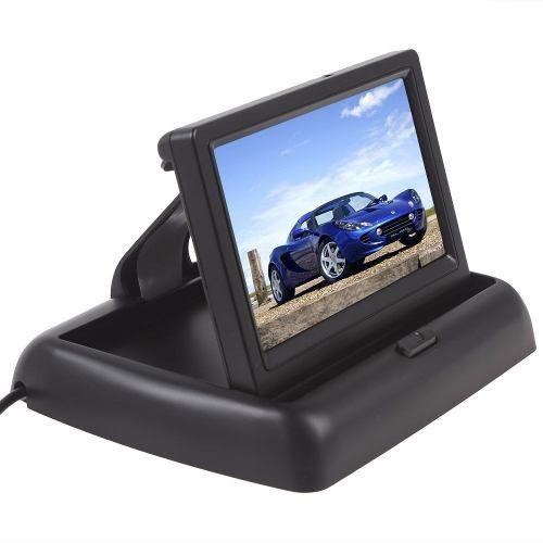 Tela Monitor Veicular Lcd Retratil 4.3 Polegadas