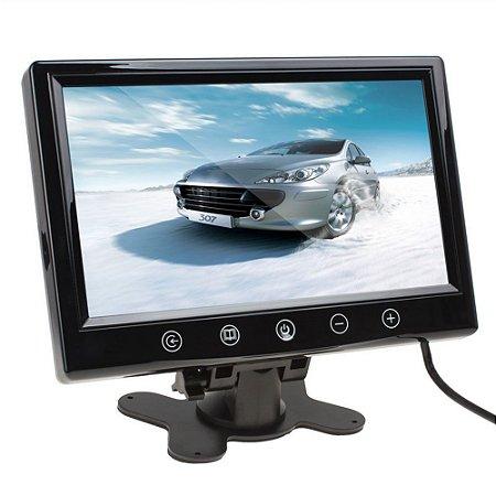 Tela Monitor Lcd  Veicular / Cftv - 9 Polegadas
