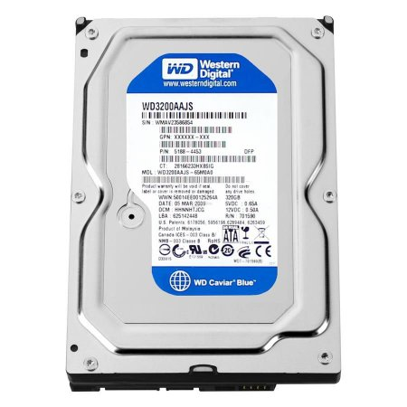 HD 320GB Sata Western Digital 16MB Cache 7.200RPM 3.5 WD3200AAKS