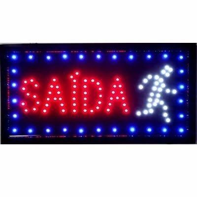 Placa De Led Para Sinalização Letreiro Luminoso - Saída (220v)