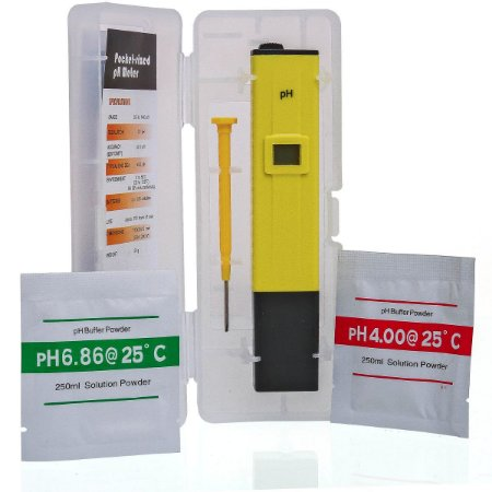 Medidor De Ph Digital Lcd Phmetro - Com Case