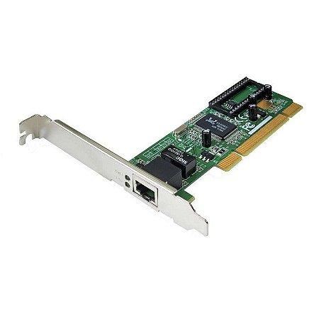 Placa de Rede PCI Ethernet 10/100 Realtek RTL8139D